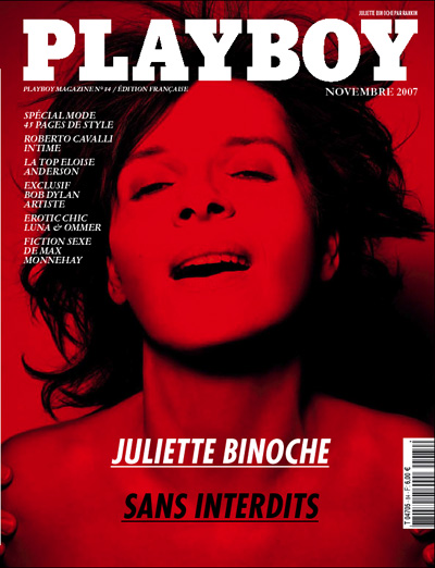 Juliette Binoche na PlayboyFrancesa