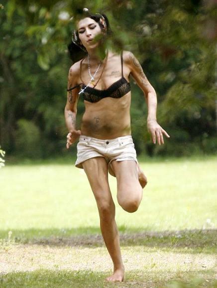 Amy é atleta